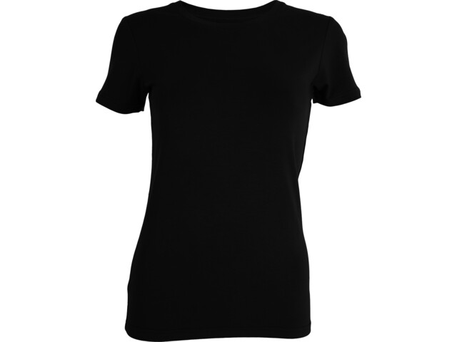 Tufte Wear Crew Neck T-Shirt Femme, black beauty